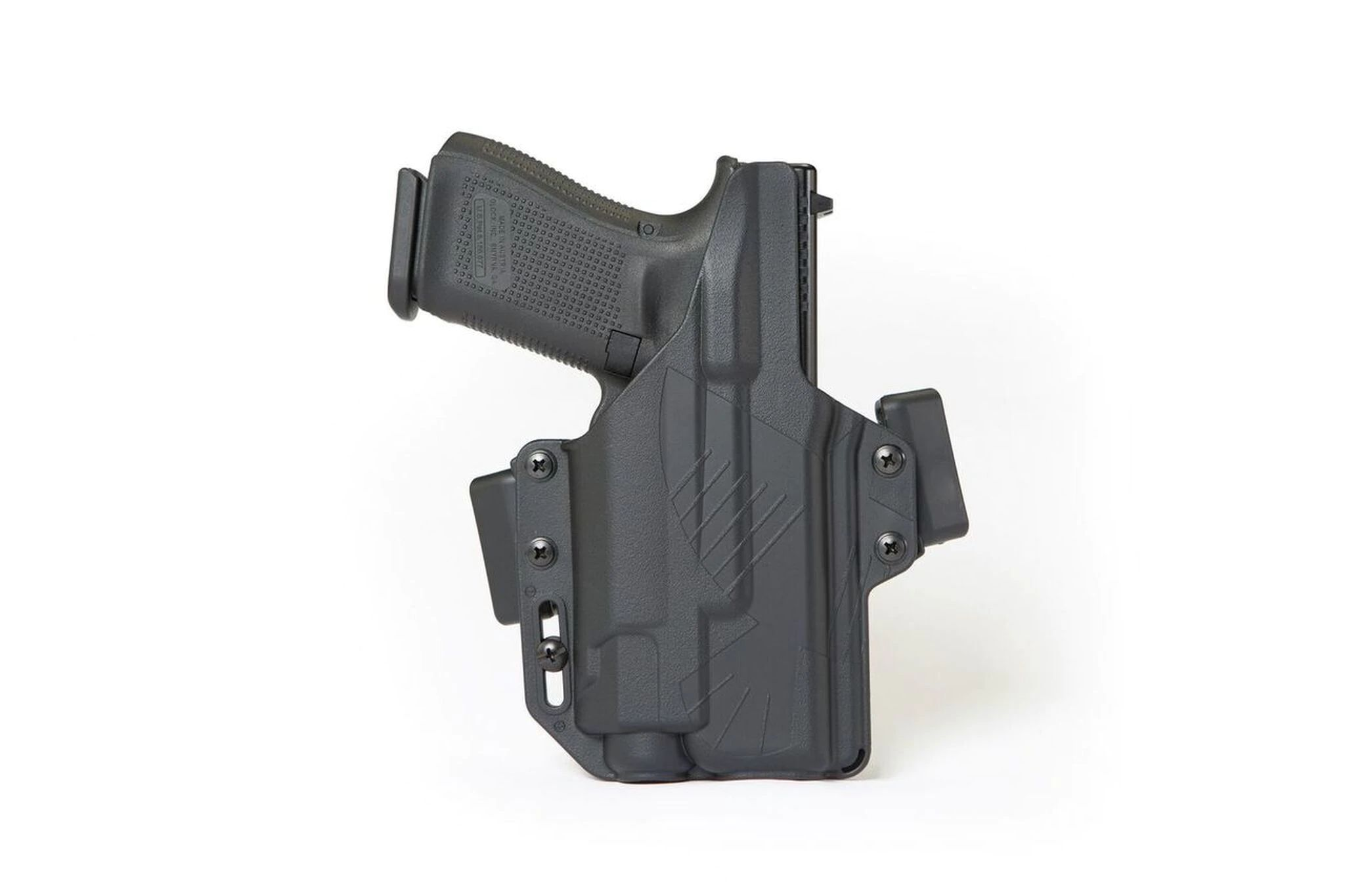 KYDEX OWB HOLSTER COMPATIBLE WITH GLOCK 19//17//34 WITH SUREFIRE X300 multicam